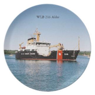 WLB 216 Alder plate