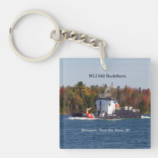 WLI 642 Buckthorn acrylic key chain