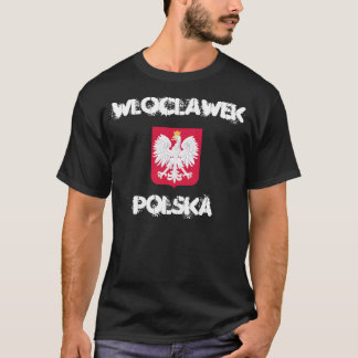 Wloclawek, Polska, Poland with coat of arms T-Shirt
