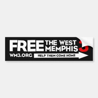 WM3 HELP THEM bumper sticker