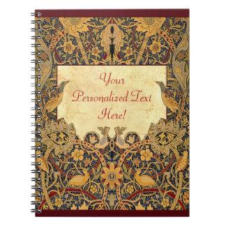 Wm Morris Pre-Raphaelite Customizable Notebook