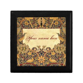 Wm Morris Pre-Raphaelite Customizable Tiled Box