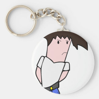 WndrBred Character Basic Round Button Keychain
