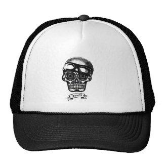 W'nR'n Scroll Sugar Skull Mother Trucker Cap Trucker Hat