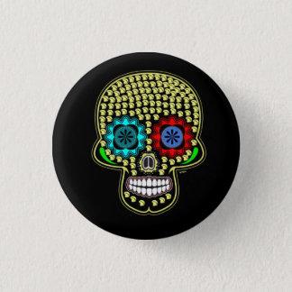 W'nR'n Skull of many helmets button