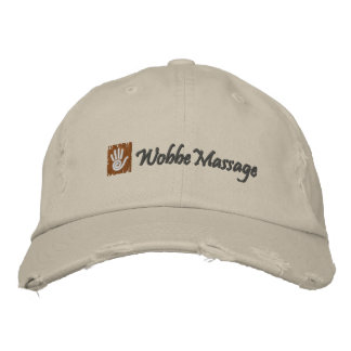 WobbeMassage Embroidered Hat