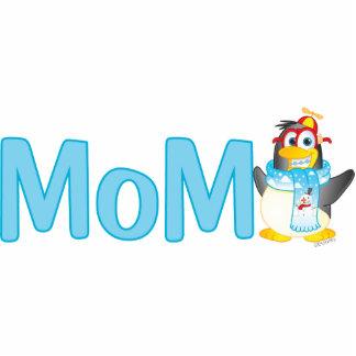 Wobble Penguin Gift for Mom - Photo Sculpture
