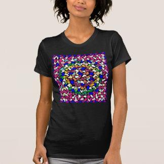Wobbly Vibrant Tiles Women's T-Shirt