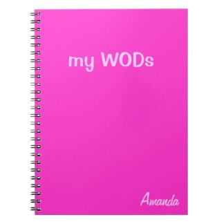 WOD Journal - Hot Pink
