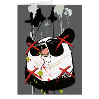 """Woebots """"Panda"""" Card"""