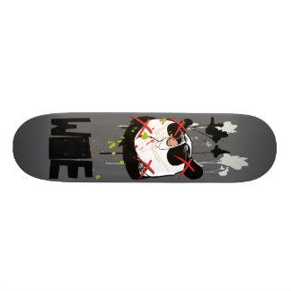 "Woebots ""Panda X"" Custom Skateboard"