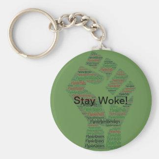#WokeWednesdays Keychain