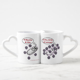 Wolbachia and Zika are Lovers Set by RoseWrites Coffee Mug Set