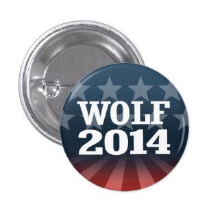 WOLF 2014 1 INCH ROUND BUTTON