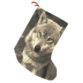 Wolf 215 small christmas stocking