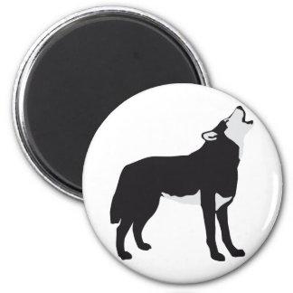 wolf 2 inch round magnet