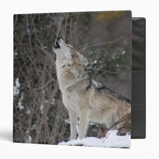 Wolf 3 Ring Binders