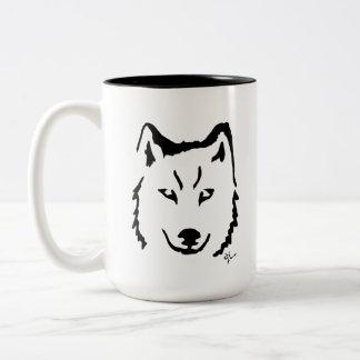 Wolf - Adolf Lorenzo Two-Tone Coffee Mug