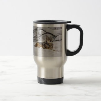Wolf American Grey Wolf Travel Mug