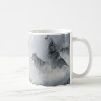 Wolf and Deer Coffee Mug