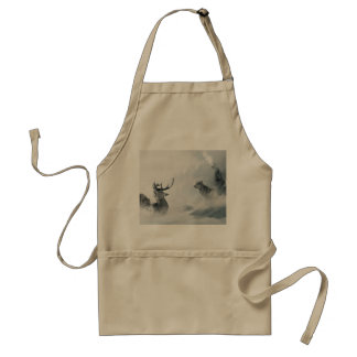Wolf and Deer Standard Apron