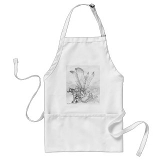 Wolf and Fairy Standard Apron
