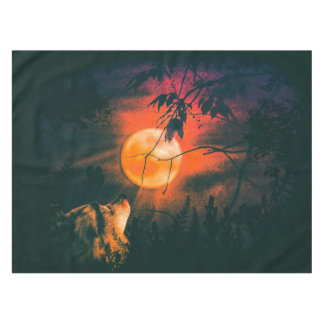 Wolf and Mead Moon Tablecloth