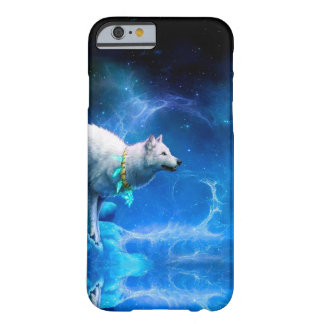 Wolf and Moon Barely There iPhone 6 Case