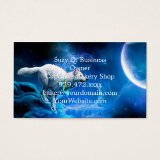 Wolf and Moon Business Card