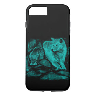 Wolf and Raven in the Night iPhone 7 Plus Case