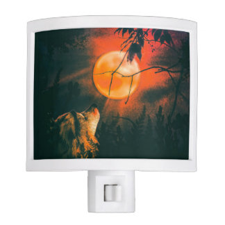 Wolf and The Mead Moon Night Lights