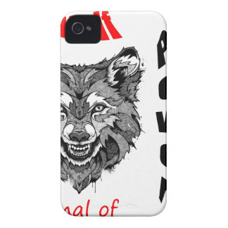 wolf-animal of to power iPhone 4 Case-Mate cases