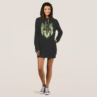 Wolf Animals Gift Dress