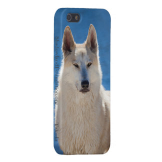 Wolf Blue Matte Case For iPhone 5/5S