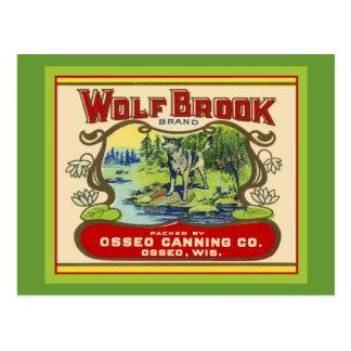 Wolf Brook Wisconsin Postcard