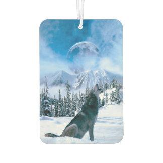 Wolf Call Car Air Freshener