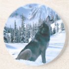 Wolf Call Coaster