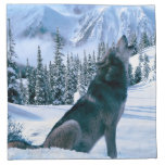 Wolf Call Napkin