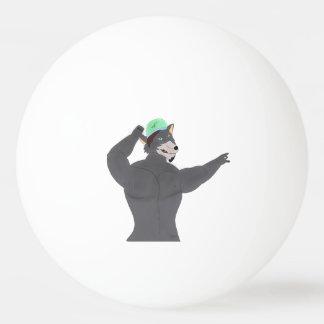 WOLF CAPE COUNTS TENNIS BALLET /BALLE WOLF CAP PING PONG BALL