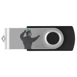 WOLF CAPE USB KEY/KEY USB WOLF CAP USB FLASH DRIVE