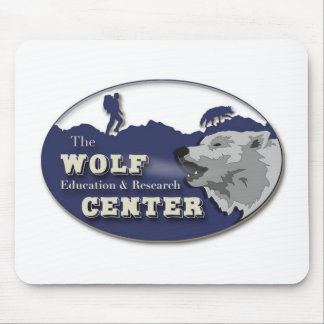 Wolf Center Mouse Pad