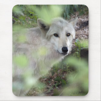 Wolf Charm Mouse Pad