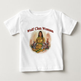Wolf Clan Woman Baby T-Shirt