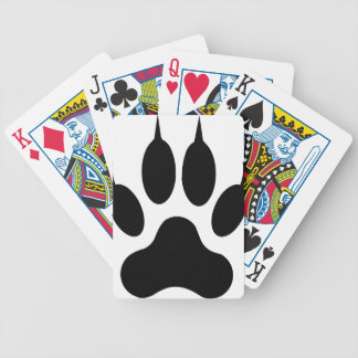 wolf claw bicycle playing cards
