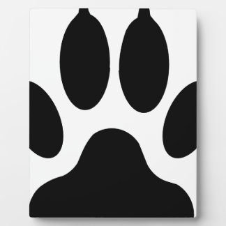 wolf claw plaque