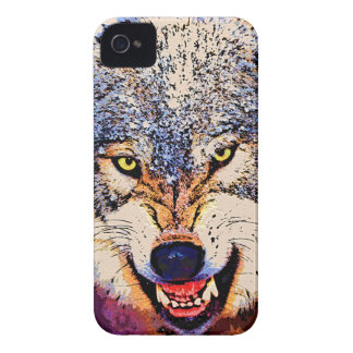 WOLF CLOSE-UP iPhone 4 Case-Mate Case