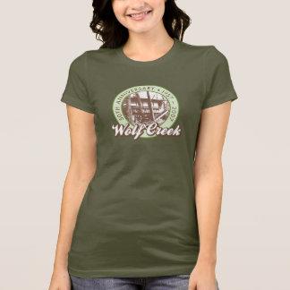 Wolf Creek Ladies Green Tee