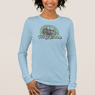Wolf Creek Ladies Long-Sleeve Brown Tee