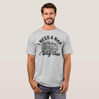 Wolf Creek Nap - Men's Basic T (Hthr Grey) T-Shirt
