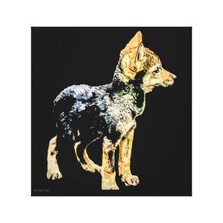Wolf Cub Canvas Print